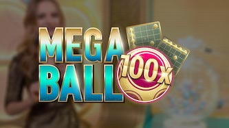 mega ball lottery with live croupiers